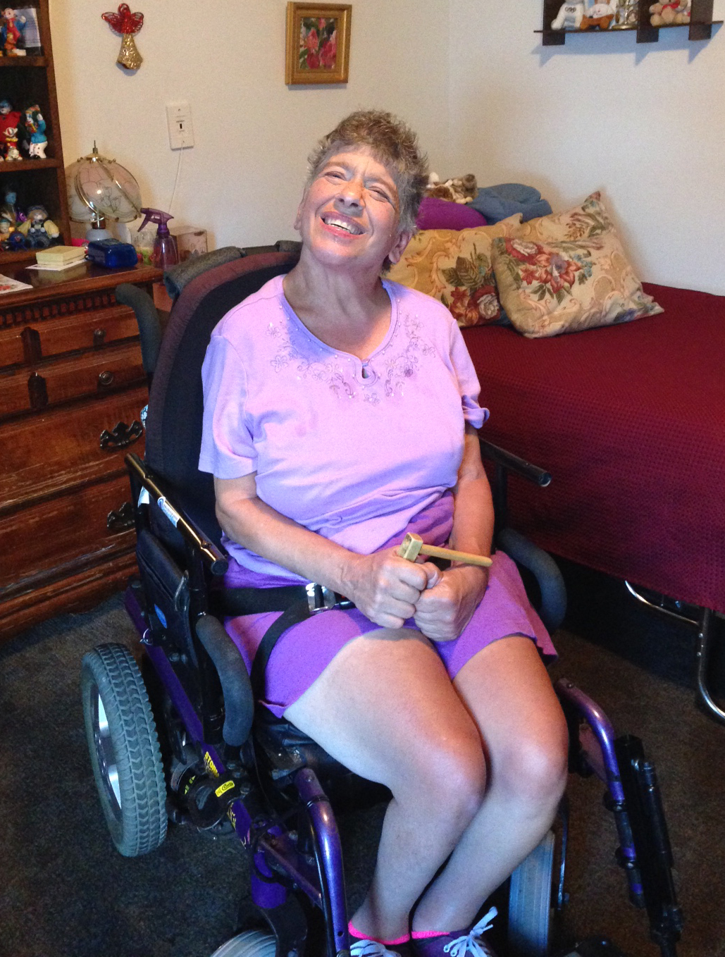 AUCP IS HELPING PEOPLE WITH DISABILITIES LIVE AT HOME.